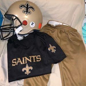 Kids NFL New Orleans Saints 3 Pc costume